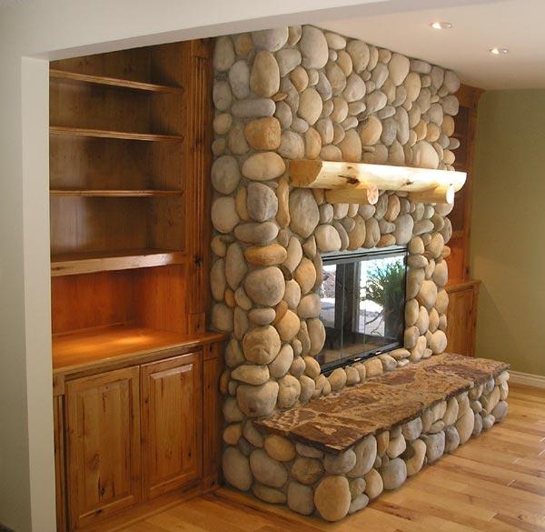 Colorado Knotty Alder Kitchen Cabinets: Cozy Family Room Remodel